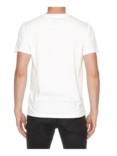 Alyx Logo Printed Cotton Jersey T Shirt White Clothing 65i Vrh004 V0hjveu1 84 by Moschino Logo Printed Cotton Jersey T Shirt White Modesens