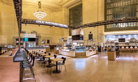 corporate food court design great northern food hall mg company