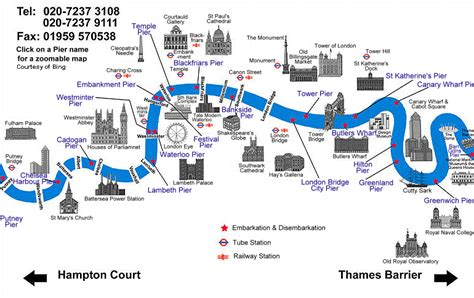 thames river usa map river thames map boat hire and catering along the river