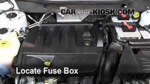 interior fuse box location 2007 2012 dodge caliber 2008