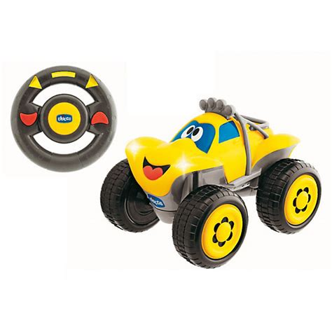 Kinder Auto Ferngesteuert by R C Fernlenk Auto Billy Big Wheels Gelb Chicco Mytoys