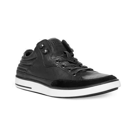 Steve Madden Mens Shoes by Steve Madden Madden Mens Shoes Symms Sneakers In Black For Lyst