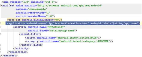 Android Get Context by Android Get Application Context My Android Solutions