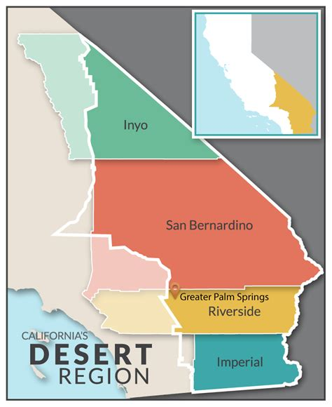 california map desert california deserts