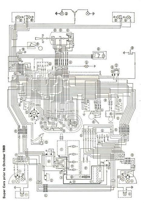 mk1 escort super wiring diagram full set pre 1969 ebay