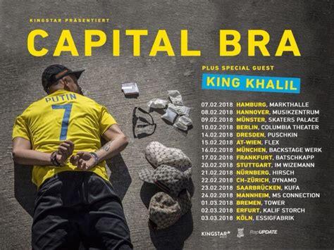capital bra tour tickets 2018 sichern
