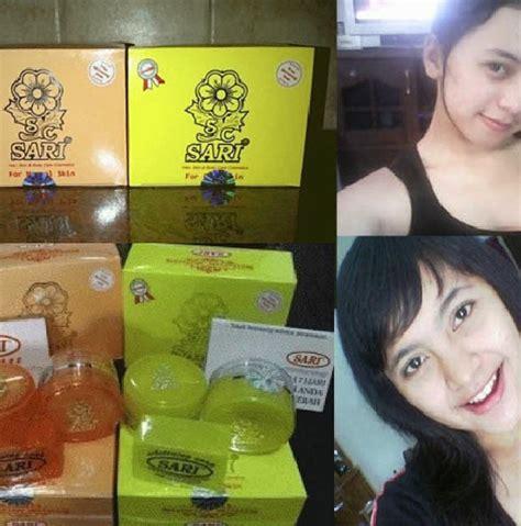 Krim Wajah Sari krim pemutih wajah cepat dan aman jual kosmetik murah
