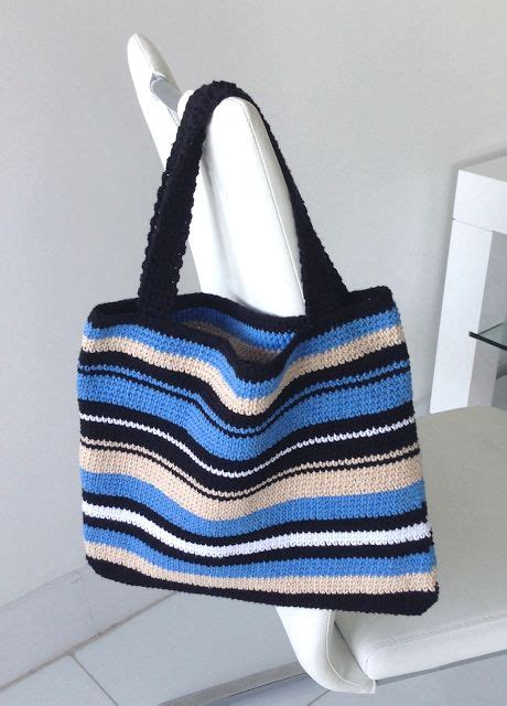free tote bag pattern pinterest miami modern crochet simply stripes crochet tote bag