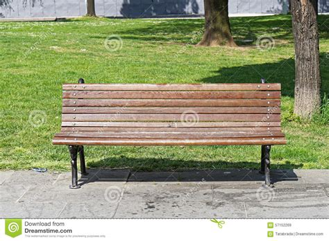 city park bench bench in park stock photo image 57152269