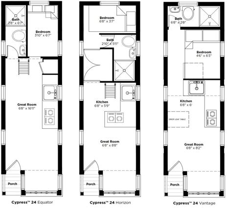 tumbleweed plans tumbleweed cypress equator floor plan google search