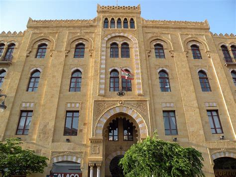 beirut the city between med and mountain a fleeting beirut 39 beirut city hall municipality building at