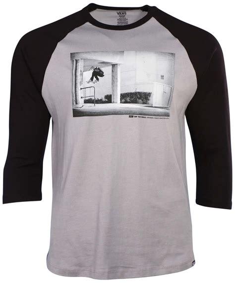 Kaos Vans Raglan vans s raglan t shirt ebay