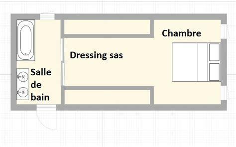 plan chambre dressing salle de bain un dressing sas univers du placard