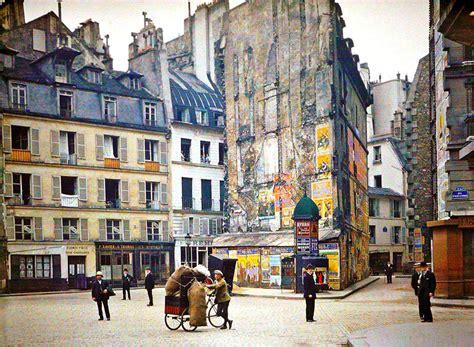 photographs of paris rare color photos of paris taken 100 years ago bored panda