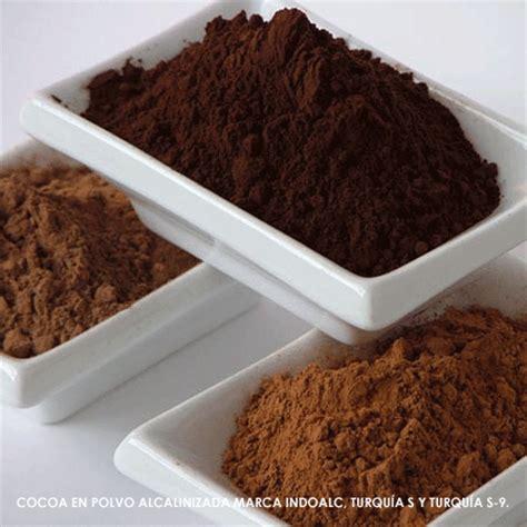 derivados cacao