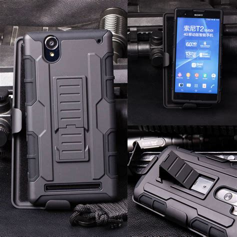 for sony xperia t2 armor impact holster