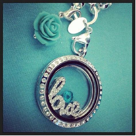 origami owl window plate in the large silver locket