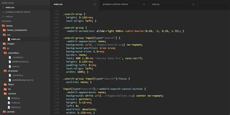 flatland theme sublime text 3 best sublime text 2 and 3 theme for 2014 idevie
