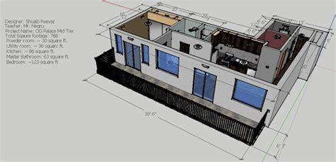 floor plan in sketchup condominium sketchup shuaib reeyaz
