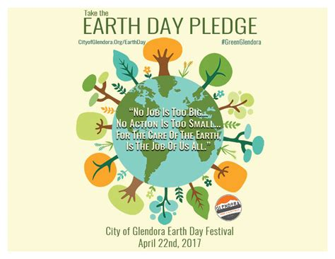 earth day earth day city of glendora