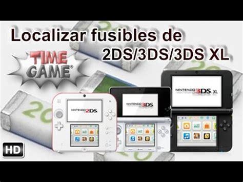tutorial nintendo 3ds xl localizar cualquier fusible en placas 2ds 3ds xl youtube