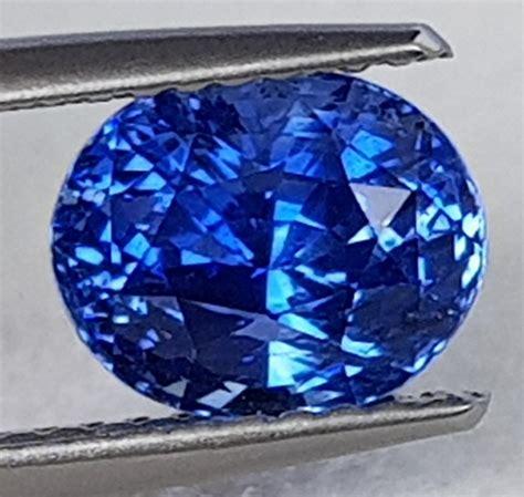 Eyecandy Blue Sapphire Normal Only 2 58cts ceylon blue sapphire cornflower blue heat