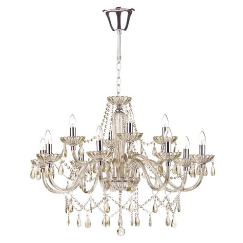 chandelier lights uk large chandelier dressed with chagne glass and