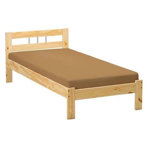mod 232 le lit une personne en pin
