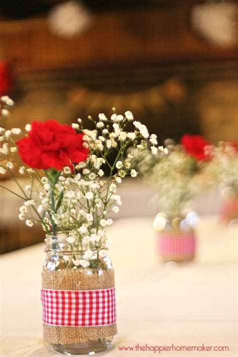 Rustic Spring Bridal Shower but burlap and lace instead of