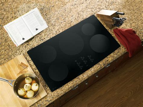 Ge Php960dmbb Profile 36 Black Electric Induction Cooktop ge profile series php960dmbb 36 quot electric induction
