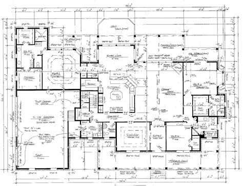 drawing a house plan house plans architect drawing house free printable images