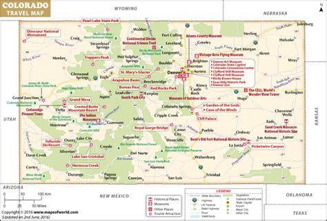 map of places to visit in maps update 800542 tourist map of colorado places to