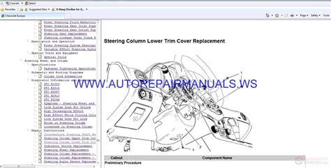 chevrolet cruze  engine  dsl service manual auto repair manual forum heavy equipment