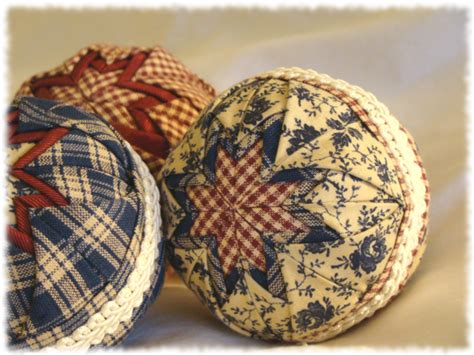country christmas ornaments to make our everyday quilted ornaments