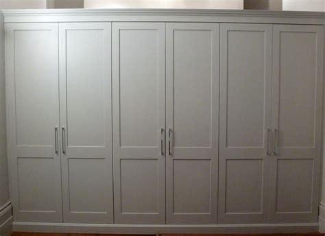 Shaker Wardrobe Doors shaker style wardrobe doors carpentry