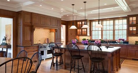 Kitchen Island Or Table by Mansion Traditional Kitchen Boston By Design Resource