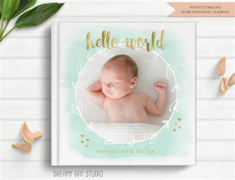 baby book cover template 23 beautiful book cover templates free sle exle