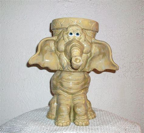 Elephant Planter Ceramic by Ceramic Elephant Planter Just Because