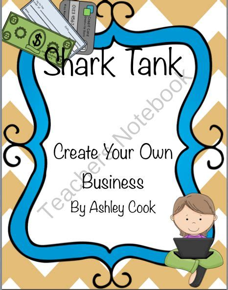 Shark Tank Business Plan From Teaching In Bronco Country On Teachersnotebook Com 12 Pages Shark Tank Business Plan Template