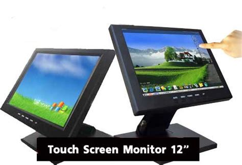 touch screen led monitor 12 usb w pos stand model 1201tv3