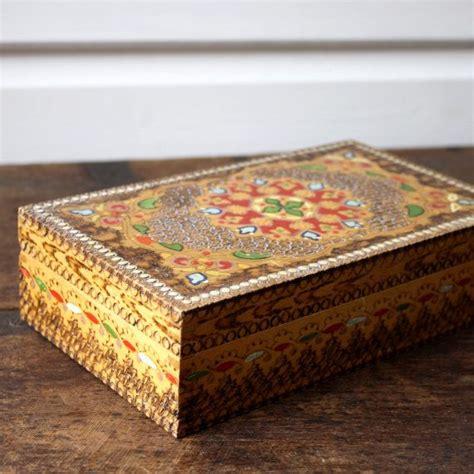 decorative boxes etsy decorative wooden box 163 9 00 via etsy wooden boxes