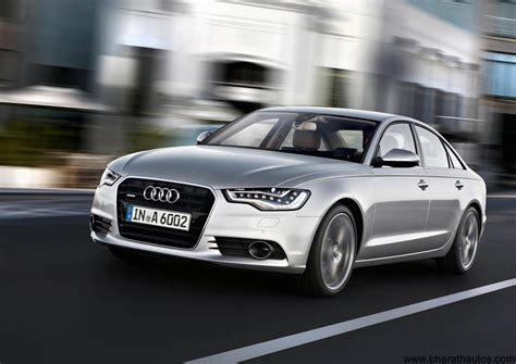 official 2012 audi a6 launch on 3rd august