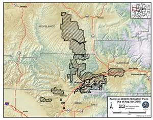 colorado state wildlife areas map wildlife a priority in new colorado gas drilling deals