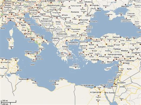 aegean sea map the gallery for gt adriatic sea on map of europe