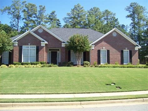 2 car garage sq ft one story brick home 2300 sq ft 4 br 2 1 2 bath 2 car