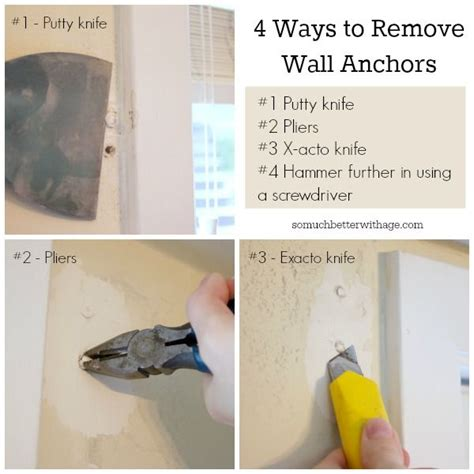 how to remove a wall 13 best images about wall anchors on pinterest diy wall