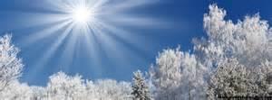 soleil en hiver photo de couverture