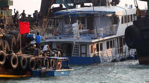 boat crash hong kong bbc news in pictures hong kong boat crash