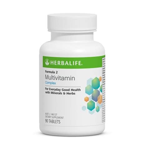 Vitamin C Herbalife Herbalife Nz Independent Members Formula 2 Multivitamin