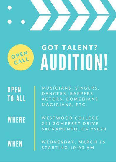 talent show flyers ktunesound